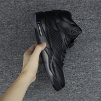 Wholesale Premium Training - New factory product 5 Premium Pinnacle Black Basketball Shoes camouflage trophy room 5s V Fashion Sneakers Training Shoes With Box