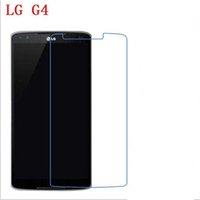 Wholesale Touch Screen G4 - 9H Tempered Glass For LG G4 H815 H810 VS999 F500 phone film Phone Protective touch screen protector Free shipping