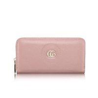 Wholesale Photo Birthday Cards - New Fashion Women Ladies Genuine Leather Clutch Female Wallet Long Card ZIpper Purse Handbag Birthday Bags J131