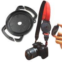 Wholesale Wholesale Sales Camera Covers - Wholesale-New P4PM Cap Buckle C1 for 52mm 58mm 67mm Camera lens Cap Holder Cover Hot Sale