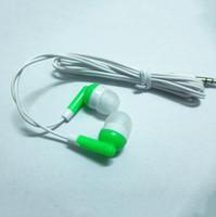 enchufe gratis para auriculares al por mayor-El más barato de 3.5 MM Plug In-ear auriculares MP3 MP4 Auriculares con cancelación de ruido auriculares para teléfono MP3 MP4 envío gratis