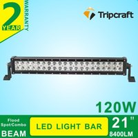 Wholesale Shock Spot - 21inch aluminum bracket led light bars led 120w waterproof, shock-proof led lightbar Spot Flood Combo beam