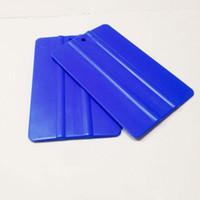 Wholesale Cheap Vinyl Wholesale - 500pcs Cheap Car Sticker Vinyl Wrap Film PP Plastic Vehicle Wrapping Tools Plastic PP Squeegee 12.5CM*8CM