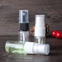 Wholesale 7ml Perfume - 7ml 10ml refillable glass spray bottle, clear mist sprayer bottle,perfume sprayer, full cover spray bottle F20171622