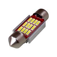 Wholesale car festoon bulb resale online - 10pcs mm mm mm mm C5W C10W CANBUS NO Error Auto Festoon Light SMD LED Car Interior Dome Lamp Reading Bulb DC V