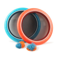 Wholesale Tennis Balls Purchase - 2pcs 30cm Dishes One 7cm Ball Children Interactive Parent-child Indoor Outdoor Multifunctional Frisbee Set Flying Disk Kids Toys