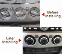 Wholesale Black Car Heat - 3pcs set Air Conditioning heat control Switch knob AC Knob For Ford Focus 2 MK2 Focus 3 MK3 Sedan Hatchback Mondeo car styling