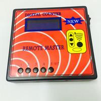 Wholesale Remote Copy Duplicate - PWcar 1pc garage car remote key copy duplicate tool Digital Counter remote key duplicator remote control code copier Free DHL