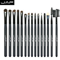 Jaf 15 Stücke Pony Haar Lidschatten Augenbrauen Pinsel Marke Make-Up Pinsel Professionelle Kosmetik Kits Make-Up Pinsel Set Maquiagem Je15p