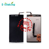 Wholesale Oppo Screen - For OPPO find 5 x909 LCD display touch screen with Digitizer + Beze Frame + Tools Free with &without frame DHL Free shipping