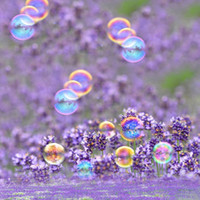 Any size spring pictures backgrounds - Lavender Flowers Backdrop Photo Colorful Bubbles Spring Scenic Photographic Backgrounds for Kids Baby Newborn Picture Shoot Wallpaper Props