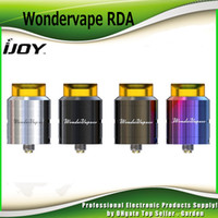 Wholesale Post Fittings - Original iJoy Wondervape RDA Tank Two Post Build Deck Side Bottom Arirflow Atomizer Fit Authentic Captain PD270 Mod 100% Genuine 2228520
