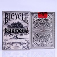 Wholesale Bicycle Proof Playing Cards Prohibition Series Deck by Ellusionist Magic Deck Magic Tricks props