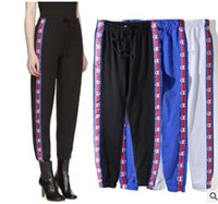 Wholesale Loose Trousers Women - PALAE SkaCteboard stussy Pants Men Women 100% Cotton Palace Pants Jogger Casual Sweatpants Casual Hip Hop sup Hombre Trousers Pants