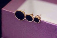 Wholesale Earrings Brands - 316 l stainless steel classic brand best gift earrings do not fade