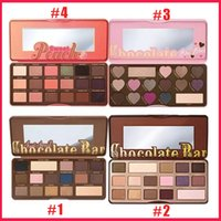 Wholesale Palette Corrector Makeup - Faced Sweet peach Makeup Eye Shadow Too Faced Chocolate Bar Semi-sweet 16 Colors Professional Eyeshadow Palette