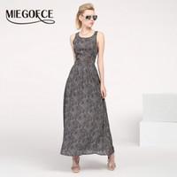 Wholesale Quality Wholesale Maxi Dresses - Wholesale- MIEGOFCE 2016 New arrival women form-fitting long summer dress chiffon sleeveless slip maxi dress high quality Holiday Sundress