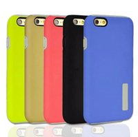 Wholesale S4 Hybrid Cases Kickstand - Colorful TPU Soft Case for iPhone 5S 6 Plus Cover Hybrid Phone Cases for Samsung Galaxy S6 S6edge Note5 J7 J5 S5 S4