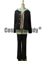 Wholesale Naegi Makoto Cosplay - Dangan Ronpa Makoto Naegi Uniform Cosplay Costume K002