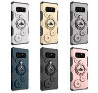 Wholesale Pc Metal Gear - For iPhone X 8 Plus New Gear Armor Galaxy Note 8 TPU PC Stand Cases Holder Arm band Outdoor Sport Phone Case D