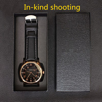 No watch case internal - unique design high quality hard case rectangle Watch black box internal shockproof Soft foam Fashion jewelry gifts boxes