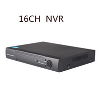 Wholesale Nvr For Ip Camera - CCTV 1080P 16CH NVR ONVIF 1-CH HD VGA RCA Output 16 Channel H.264 P2P Network NVR Recorder For IP Camera Support Phone View