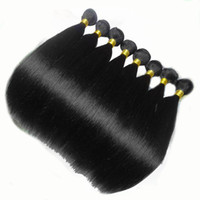 Wholesale Good Quality Malaysian Bundles - Malaysian Virgin Hair Extensions Human Hair Weave 8PCS Lot Straight Hair Weave Bundles Good Quality No Shedding 12-30inch Available