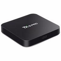 Wholesale Vs Dual Core - Amlogic S905X Quad Core 2.4 5G Dual WiFi Bluetooth Android 6.0 TV Box TX5 PRO 2GB 16GB VS X96 MXQ PRO