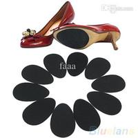 protectores de suela al por mayor-Al por mayor-5 pares de zapatos antideslizantes de tacón alto suela protectora antideslizante almohadillas de cojín 2MFJ