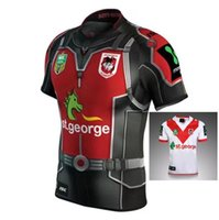 Wholesale heroes shirts - NEW 2017 St. George RUGBY jersey 17 18 Top Thailand quality Rugby hero STGEORGE home away Shirts Free Shipping