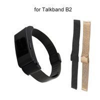 huawei smartwatch b2. free shipping new arrival stainless steel replacement watch band strap for huawei talkband b2 smart smartwatch
