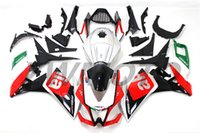 Wholesale Motorbike Aprilia Fairings - torcycle Fairing Kit ABS Full Fairings For Aprilia RS4 125 2012 2013 2014 2015 Injection ABS MoBody Kit Motorbike Hulls Cowlings Silver