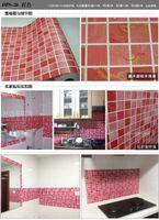 Wholesale Wood Bathroom Cabinet - New Kitchen bathroom mosaic self - adhesive wallpaper top quality waterproof wall stickers cabinet wardrobe furniture renovation