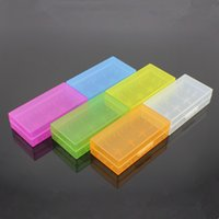 Wholesale Portable Carrying Box Battery Case Storage Colorful Safety Box for CR123A Battery color