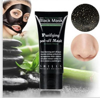 Wholesale Hot Book Sale - with Plastic packaging & instruction book SHILLS Black Mask Deep Cleansing Black MASK Blackhead Facial Mask 50ML DHL Free shipping Hot sale