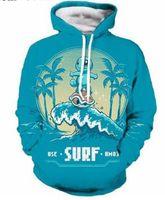 top süßes paar großhandel-Neue Mode Paare Männer Frauen Unisex Niedliche Squirtle Palme Tree3D Print Hoodies Pullover Sweatshirt Jacke Pullover Top S-5XL T89