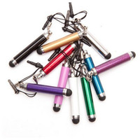 Wholesale mid screen resale online - Colorful Retractable Stylus Touch Screen Pen for Android Mobile Phones Tablet PC Mid