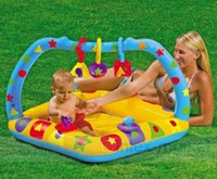 Piscina gonfiabile Baby Learning Pool Vasca da bagno Sandpit Pit Ball Pit per Kid Indoor Play Outdoor