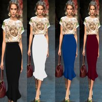 Wholesale 5 Colors New Arrival Spring Fashion Solid A Line Skirt Women Elastic High Waist Pleated Casual Skirt