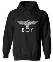 hoodies de camisolas de punk rock venda por atacado-Novo Estilo Punk London Boy Falcões Impresso Hoodies Homens Completos de Manga Comprida Camisolas Outono Inverno Moda Masculina de Rock Hip Hop Pullovers Hot