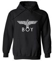 punk tarzı sweatshirt toptan satış-Yeni Punk Tarzı Londra Boy Hawks Baskılı Hoodies Erkekler Tam Kollu Tişörtü Sonbahar Kış Moda Erkek Kaya Hip Hop Kazaklar Sıcak