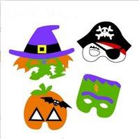 Wholesale Pumpkin Costume Women - Halloween Party Masks Ghost Halloween Mask Festival Pumpkin Pirate Masquerade Cosplay Party Supplies Costume Cartoon Halloween Props B2853