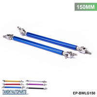 Wholesale TANSKY Universal SET mm Adjustable Front Bumper Lip Splitter Strut Rod Tie Support Bar For Ford EP BWLG150