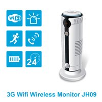 Wholesale Night Vision Camera 3g - Jimi 3G Wifi Night Vision Security Camera within 8G SD Card, JH09 with Two-way Audio and Motion Detection.