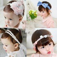 Compra Anelli Prop-2017 Accessori Formali Babys Anello Fiore Pezzi Head Kids 'HeadChristmas Toddler Headwear Princess Photo Props Accessori Capelli Capelli