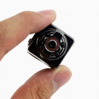 hd başparmak toptan satış-IR Gece Sürüm SQ8 Başparmak Mini Spor DV Kamera 1080 P Full HD Araba DVR 12MP Kamera kamera Ses Video Kaydedici PC kamerası