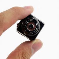Wholesale thumb camera for sale - Group buy IR Night Version SQ8 Thumb Mini Sport DV Camera P Full HD Car DVR MP Cam camcorder Voice Video Recorder PC webcam