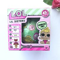 Wholesale Big Girls Dress - 2017 Christmas gift LOL Lil Sisters Series 2 Dress Up Toys baby LOL Dolls girls Baby Dolls LOL Surprise Dolls with package