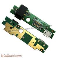 Wholesale Usb Plug Pcb - Wholesale- Original USB Charger Board Cable for Lenovo A2107 A2207 Tablet SUB PCB Mainboard USB Plug Charging Socket Connector 3pcs