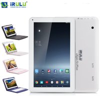 "Wholesale 16gb Dual Core Tablet - US Stock! iRULU 10.1"" eXpro X1Plus Tablet PC Allwinner A33 Android6.0 8GB 16GB+1GB Bluetooth4.0 1024*600 With 10"" Keyboard Case"
